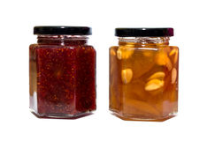 Jam Jar isolated Royalty Free Stock Images