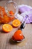 Jam from kumquats Royalty Free Stock Image