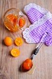 Jam from kumquats Royalty Free Stock Photography