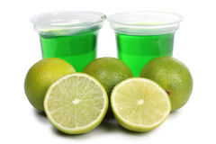 Jam of lime Stock Photo
