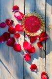 Jam made of rose petals Royalty Free Stock Photos