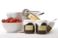 Jam Making Royalty Free Stock Images
