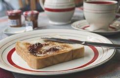jam masła toast zdjęcia royalty free
