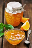 Jam from orange fruits Royalty Free Stock Image