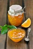 Jam from orange fruits Royalty Free Stock Image