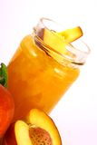 Jam peach Stock Images
