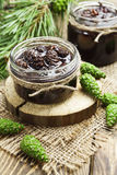 Jam of pine cones Stock Image