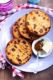 Jam and raisin rolls Royalty Free Stock Photography