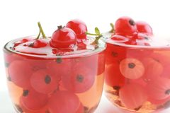 Jam with red currant Royalty Free Stock Photo