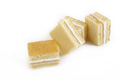 Jam roll cake Stock Image
