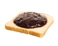 Jam Sandwich Stock Photo