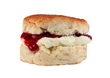 Jam Scone Stock Images