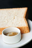 Jam and sliced bread Royalty Free Stock Image