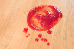 Jam stain Stock Photos