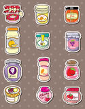 Jam stickers Stock Images