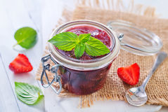 Jam from strawberry Royalty Free Stock Image