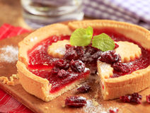 Jam tart royalty free stock image
