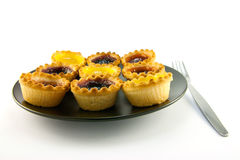 Jam Tarts Stock Photography