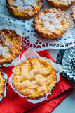 Jam tarts. Pie pastry and jam, homemade, baked Stock Photos