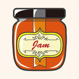 Jam theme elements vector,eps Royalty Free Stock Photography