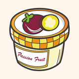 Jam theme elements vector,eps Stock Images