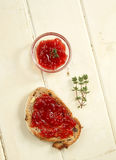 Jam toast Royalty Free Stock Photos