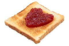 jam toast Obraz Royalty Free