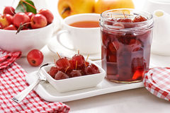 Jam from wild apples Royalty Free Stock Image
