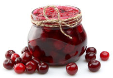 Jam With Cherry Royalty Free Stock Image