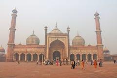 jama του Δελχί masjid Στοκ Εικόνες