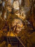 Jama Baredine, stalactite cave, Istria, Croatia. The stalactite cave Jama Baredine in Nova Vas, Porec, Istria, Croatia, Europe - Bilder stock photography