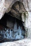 jama lodowy Montenegro Zdjęcie Stock