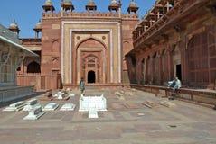 Jama Mashid en Fatehpur Sikri, la ciudad de la victoria Fotografía de archivo libre de regalías