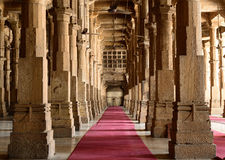 Jama Masijd mosque in Ahmedabad Royalty Free Stock Images