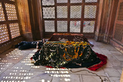 Jama Masjid在法泰赫普尔西克里是一个清真寺在阿格拉,完成  库存图片