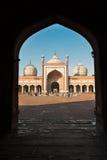 Jama Masjid清真寺,老Dehli,印度 库存照片