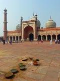 Jama Masjid,老德里 库存照片