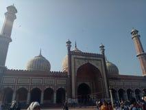 Jama Masjid Royaltyfri Fotografi