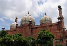 德里印度jama masjid清真寺 库存图片
