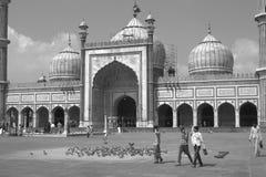 jama masjid fotografia stock