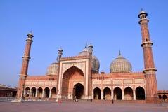 Jama Masjid Stockfotografie