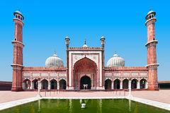 Jama Masjid imagens de stock