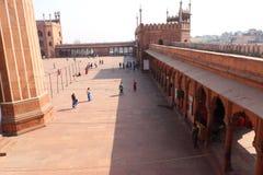 Jama Masjid royalty-vrije stock foto's