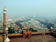 Jama masjid in Delhi stockfotografie