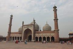 Jama Masjid Delhi Lizenzfreie Stockbilder