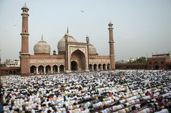 Jama Masjid. At Delhi India Stock Image