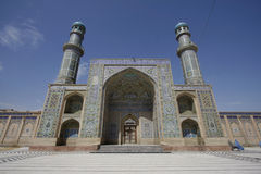 Jama Masjid di cuore Immagini Stock
