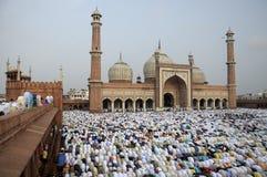 Jama Masjid. On Eid Fitr Royalty Free Stock Images