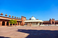 The Jama Masjid in Fatehpur Sikri Royalty Free Stock Photography