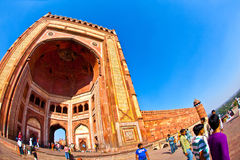 The Jama Masjid in Fatehpur Sikri Stock Photography